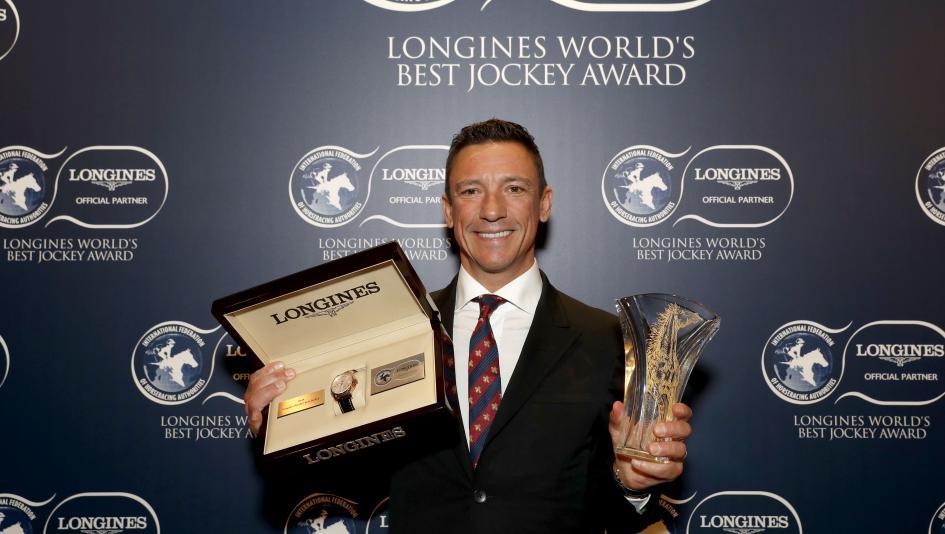 Dettori Honored as Longines World's Best Jockey, Looking Forward to 2019