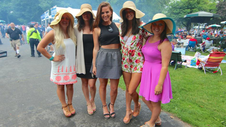 what to wear at saratoga race track