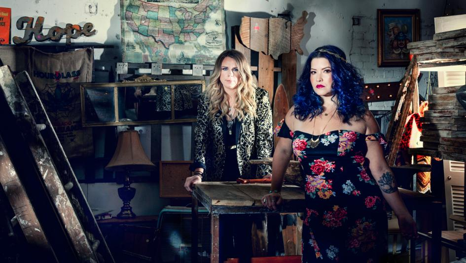 Granville Automatic's Elizabeth Elkins (left) draws on her experiences with Thoroughbreds when writing songs.