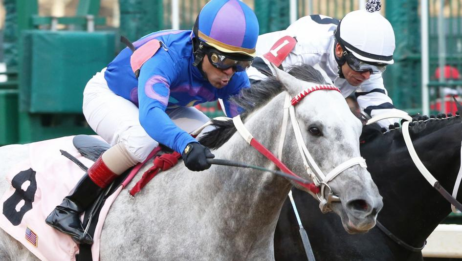 Gray Attempt earned 10 Kentucky Derby points with his win in the Smarty Jones Stakes on Friday.