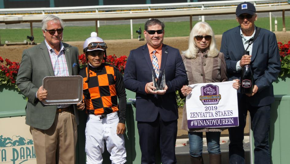 The 2019 Zenyatta Stakes: An Ode to Joy