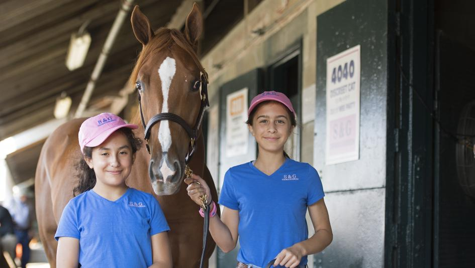 S & G Thoroughbreds a Hands-On Venture for Young Friends