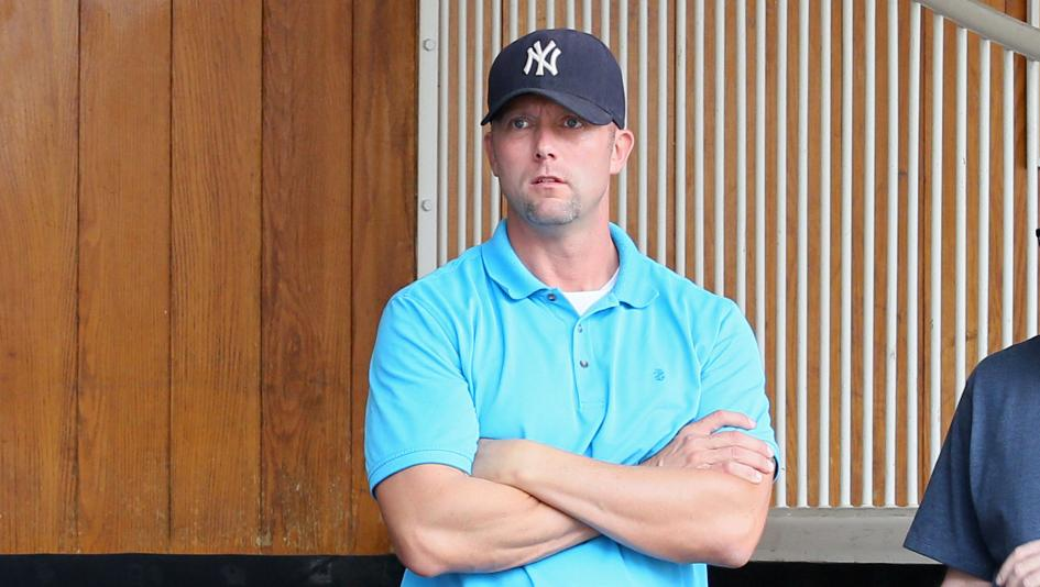 Former U.S. Marine Jeff Hiles grew up around horse racing and is now branching out as a trainer on his own.