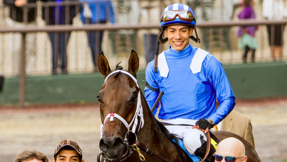 Jockey Jose Ortiz has experienced much success in his young career.