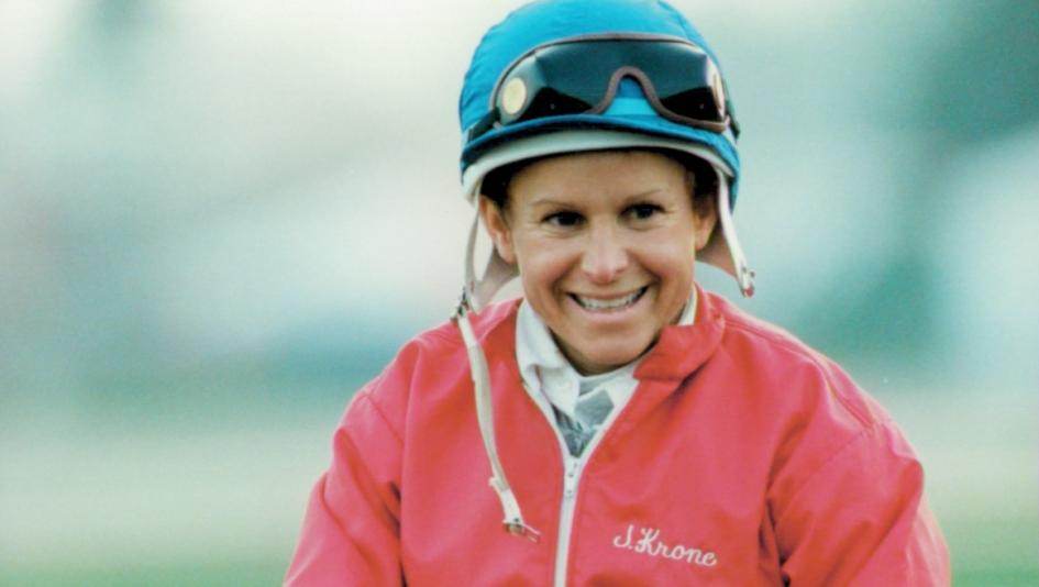 Julie Krone achieved much in her riding career, including a Belmont Stakes victory aboard Colonial Affair in 1993.
