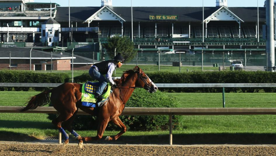 96cc9bb5d72e Justify Smooth and Easy In Final Pre-Belmont Work
