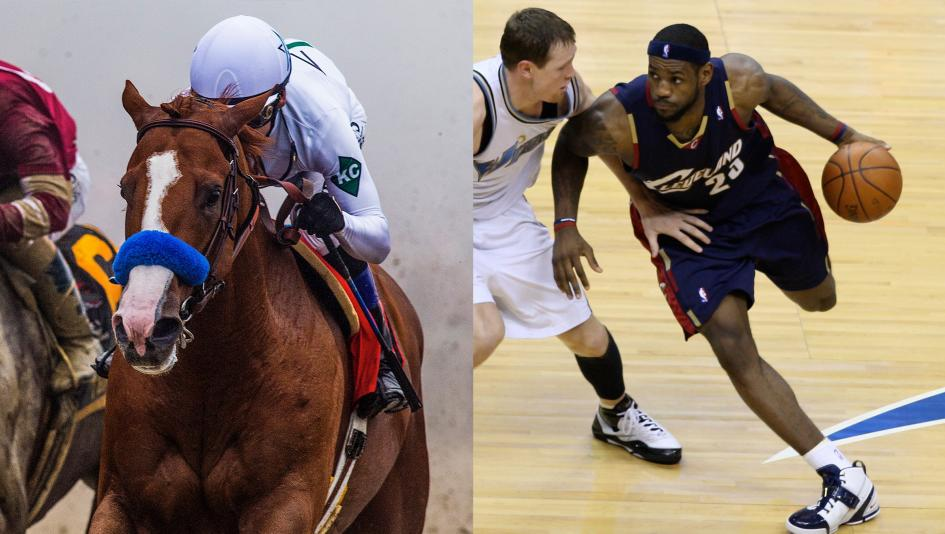 Tale of the Tape: Justify vs. LeBron James