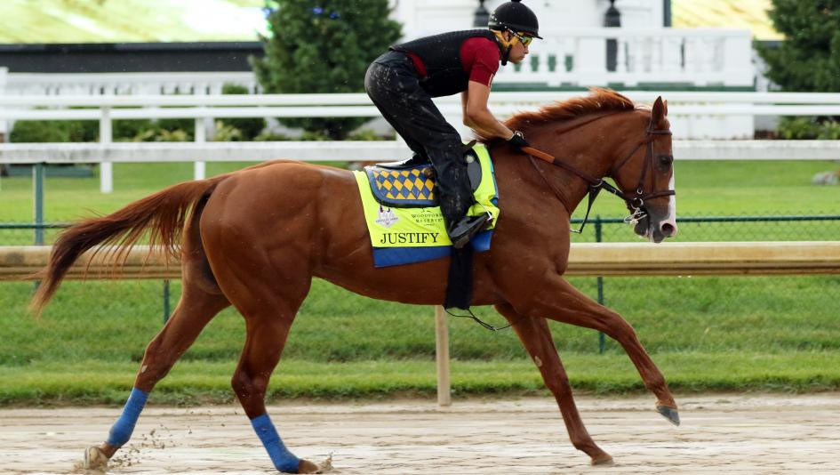 Potential Triple Crown winner Justify has brought publicity and opportunity to horse racing.