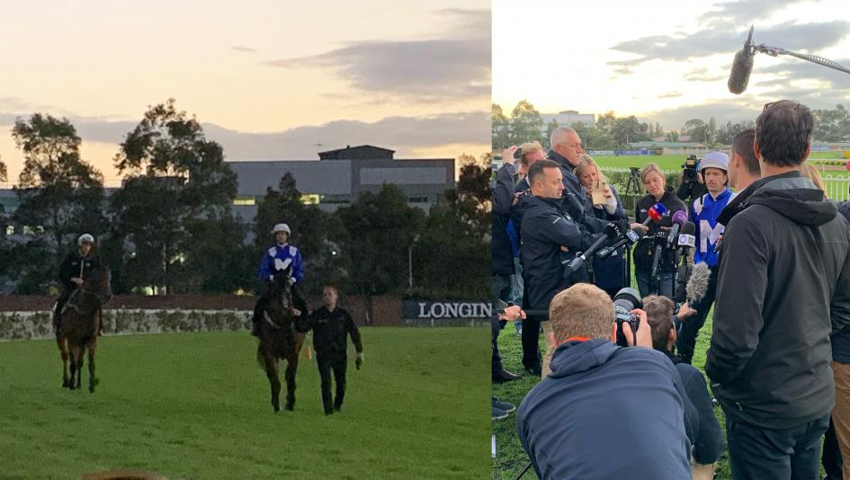 Bob Kasinow got to see Winx train and hear Hugh Bowman's thoughts on her as part of his Australia trip.
