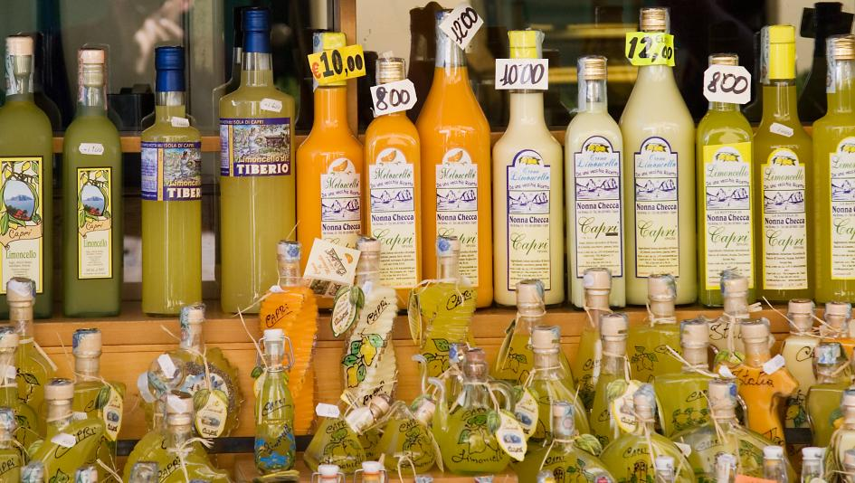 Limoncello is a traditionally Italian lemon liqueur.