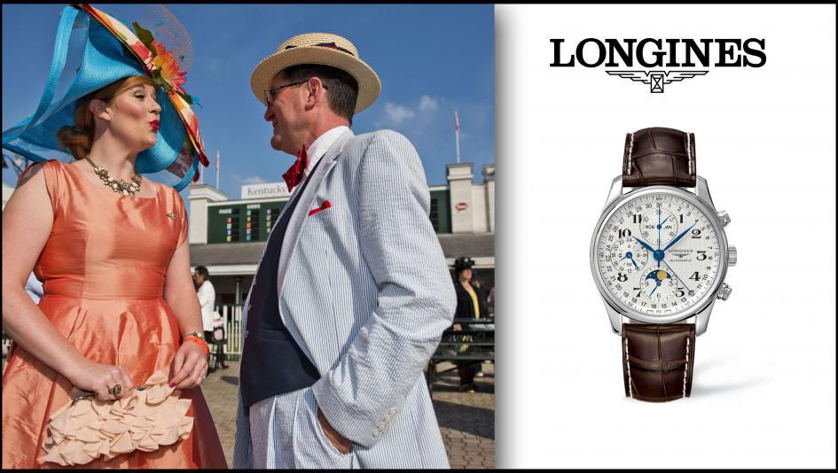 Longines Men's March Watch of the Month: Master Collection 40 MM with Moonphase