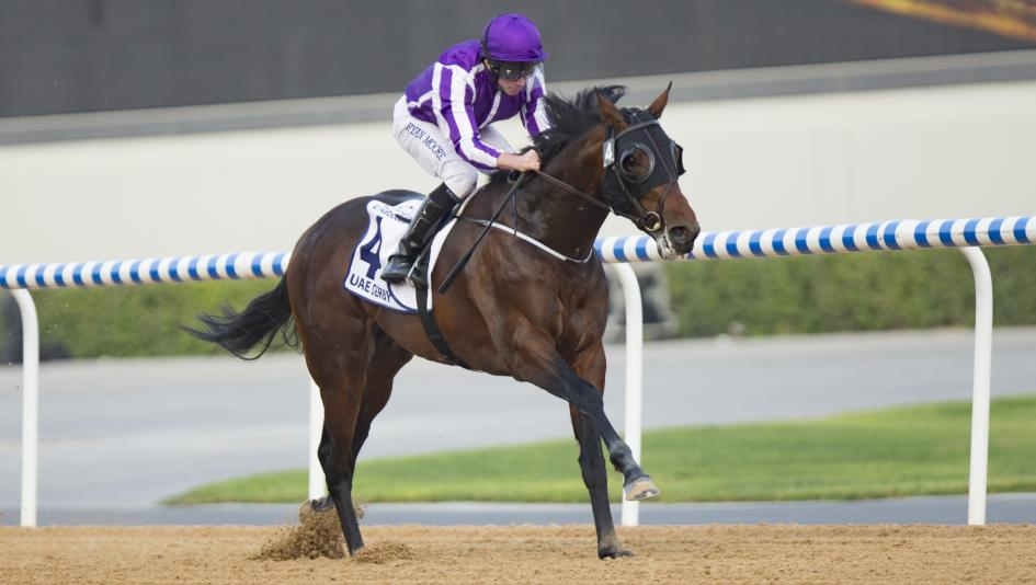 Aidan O'Brien's Mendelssohn wins the UAE Derby