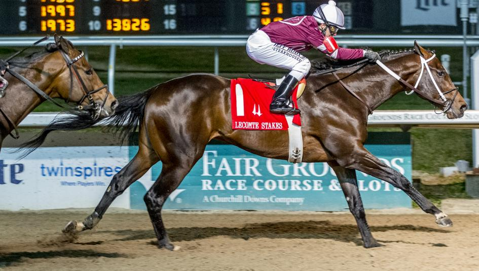 Front-Running Midnight Bourbon Orders Up Breakthrough Win in Lecomte