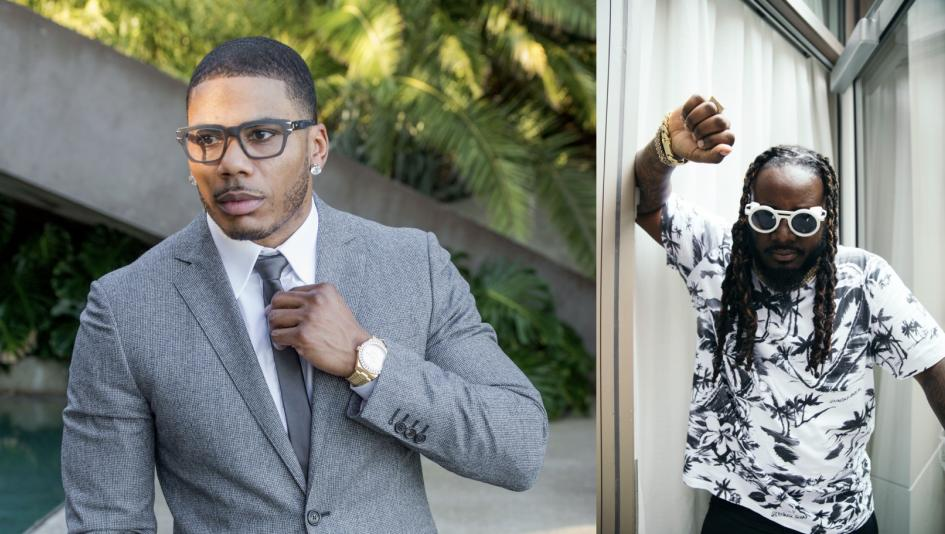 Nelly and T-Pain headline the non-equine entertainment at this year's Pegasus World Cup.