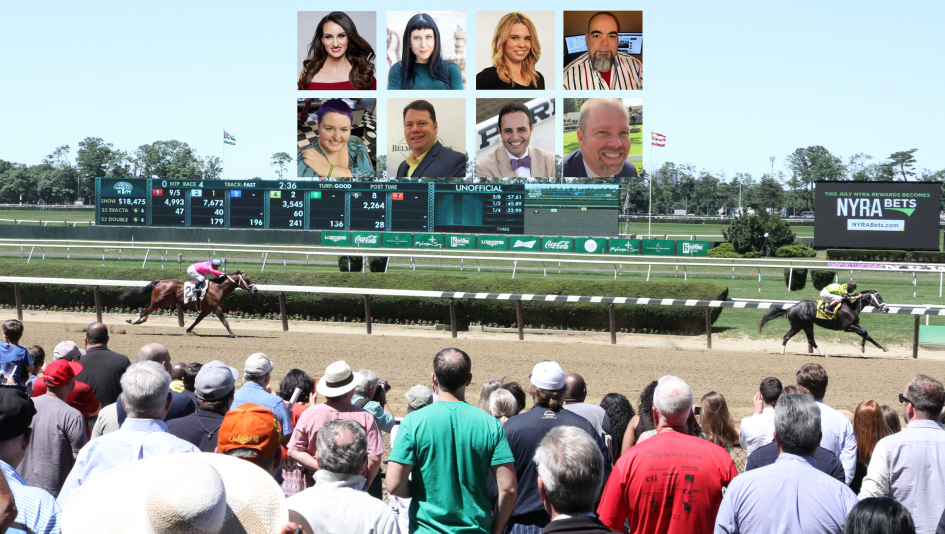 Big Race Showdown Marquee Matchups At Belmont Santa