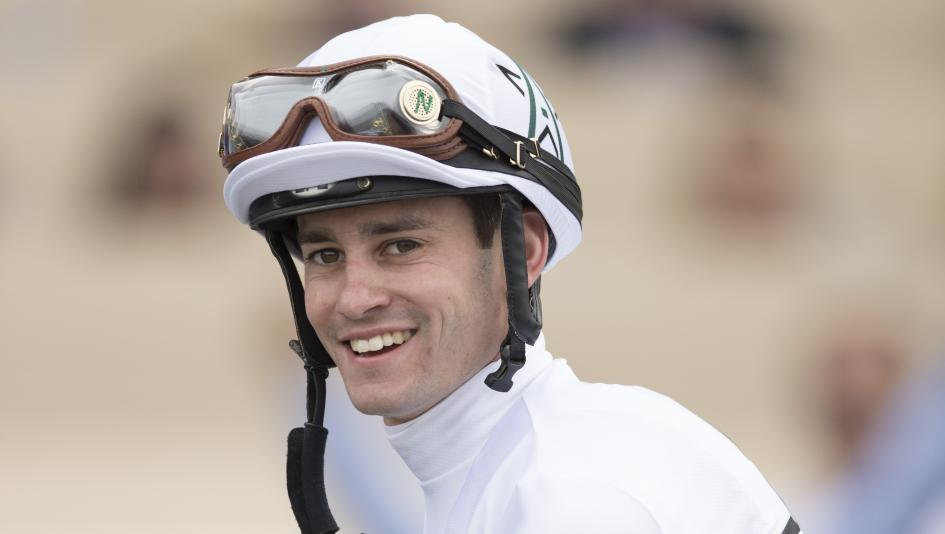 Jockey Flavien Prat will ride Audible for the first time in Saturday's Pegasus World Cup.