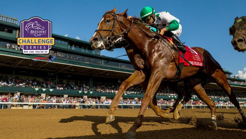 Promises Fulfilled defeated his elders and earned a place in the Breeders' Cup Sprint with his Phoenix Stakes win.