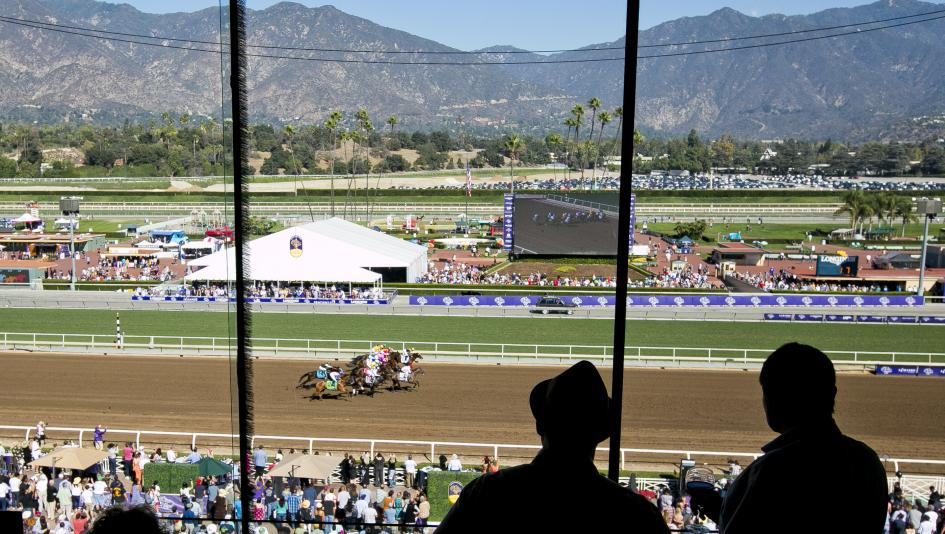 Racing at Santa Anita Park, which will also feature infield ice skating for fans from Dec. 26 through Jan. 6.