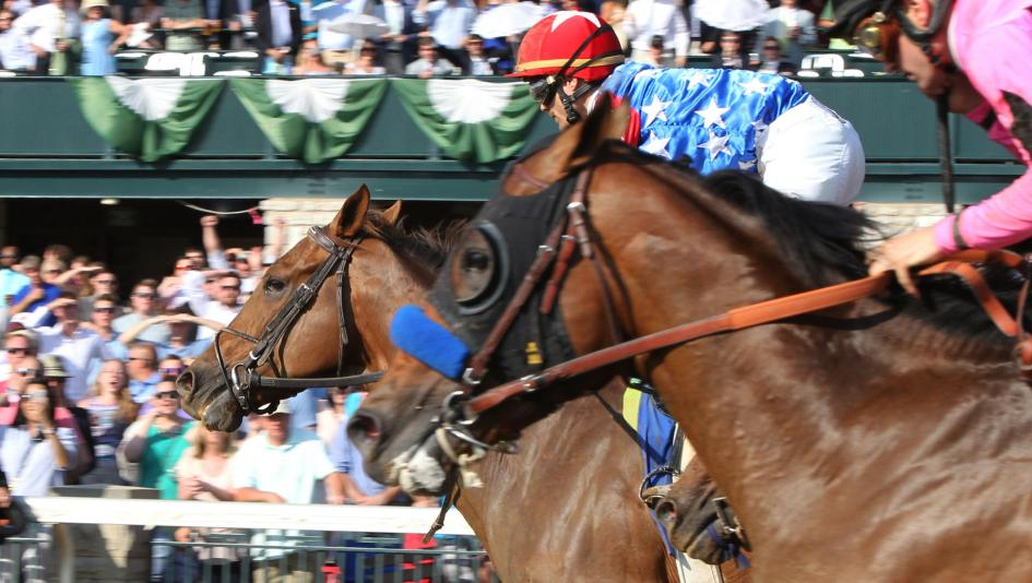 Senior Investment's late charges wins Lexington at Keeneland