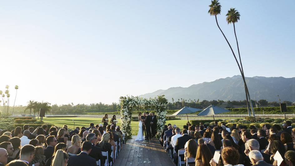 Look Beyond The Chapel Five Stunning Racetrack Wedding