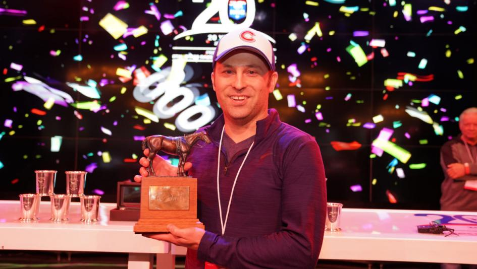 Scott Coles won the National Horseplayers Championship in his first year competing there.