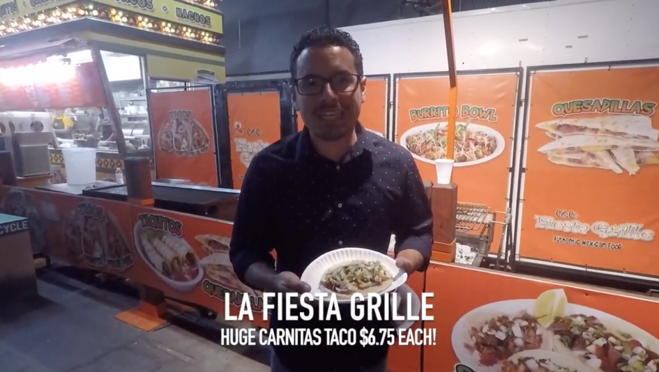 Tacos and Trifectas: Fiesta Grille at Los Angeles County Fair