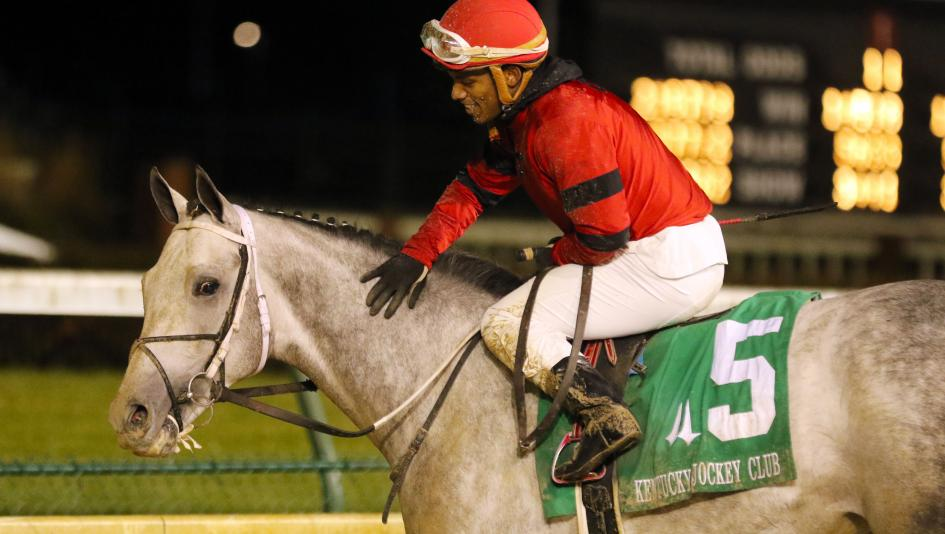 Silver Prospector earned 10 Kentucky Derby presented by Woodford Reserve qualifying points with his win in the Kentucky Jockey Club Stakes on Saturday.