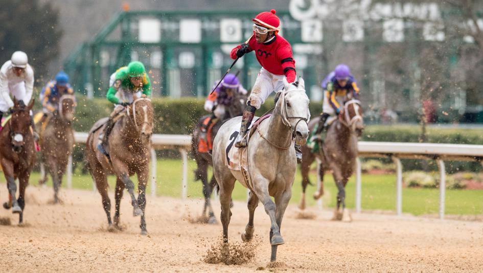 Silver Prospector Digs Deep to Earn Derby Points in Southwest Stakes
