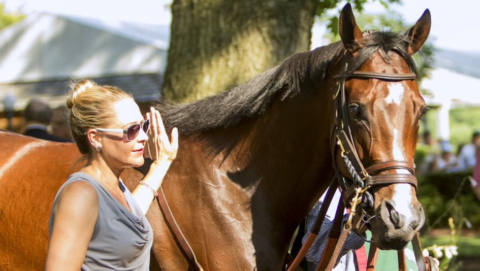 Songbird, a two-time champion, won 13 of her 15 career starts, including nine Grade 1 wins.