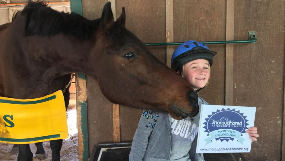 Square Peg is one of the organizations accredited by the Thoroughbred Aftercare Alliance.