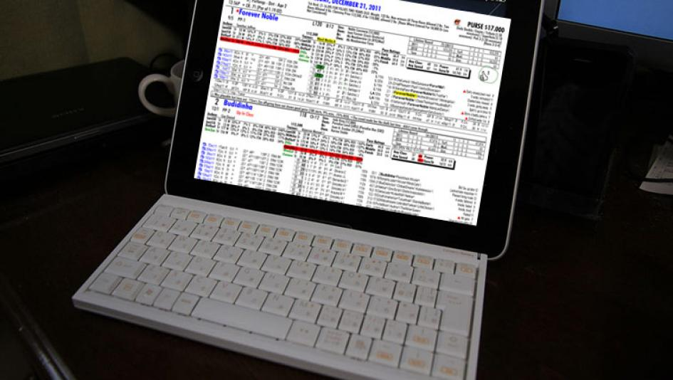 Utilizing Your iPad as a Handicapping Tool | America's Best