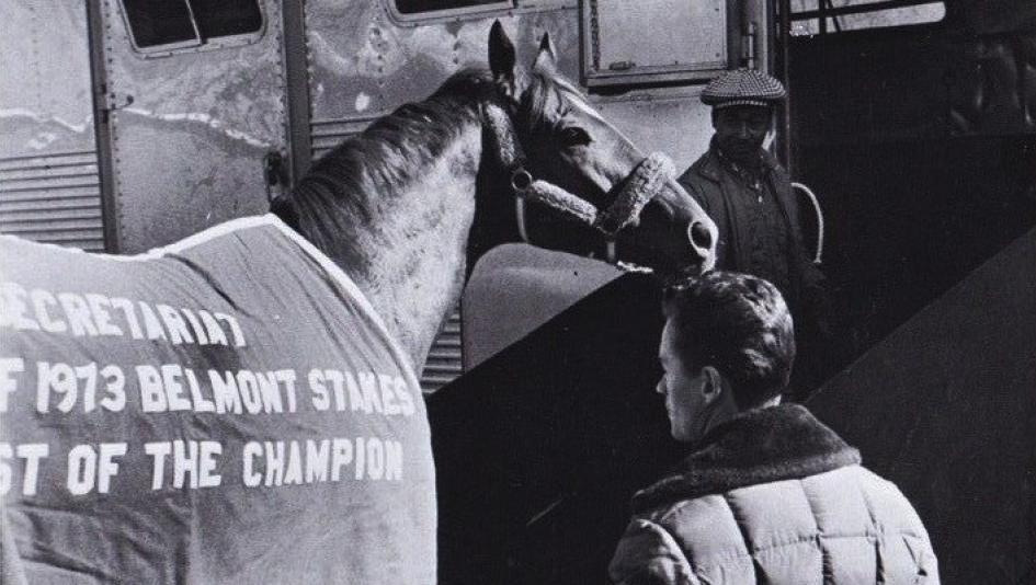 9b26bf41c434fe Secretariat wearing his Belmont Stakes winning blanket. (Courtesy  Lelands.com)