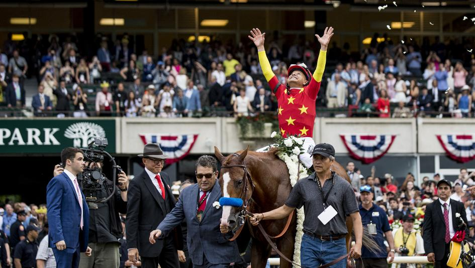 Another Triple Crown winner is on one racing fan's wish list.