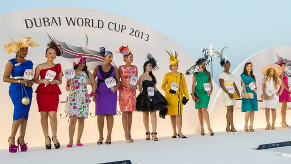 Dubai world cup fashion photos 23