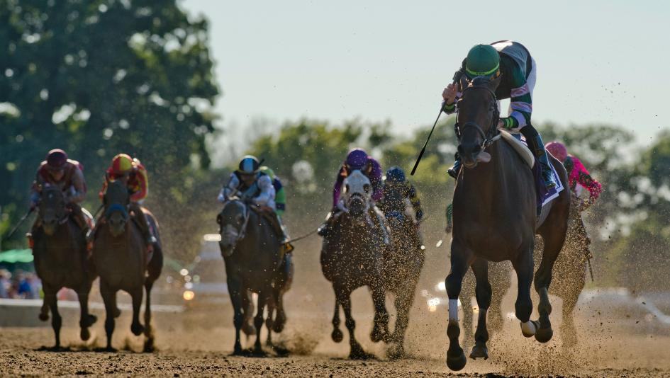 Suburban Stakes winner Diversify leads a competitive Whitney Stakes field.