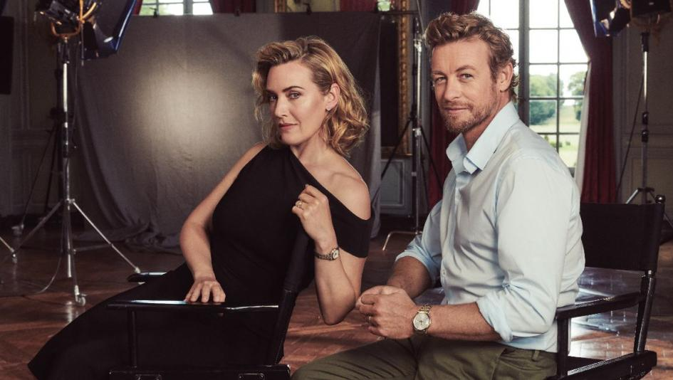 Kate Winslet and Simon Baker Join Longines Record Collection Celebration
