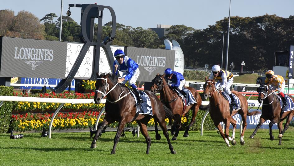 Winx captures her 25th straight win in the Queen Elizabeth Stakes at Royal Randwick in Australia.