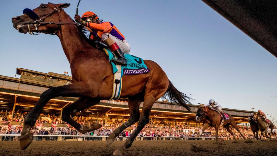 Derby Winner Authentic Romps in Breeders' Cup Classic