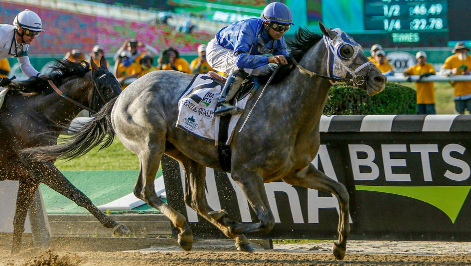 Essential Quality Outduels Hot Rod Charlie to Win Belmont Stakes