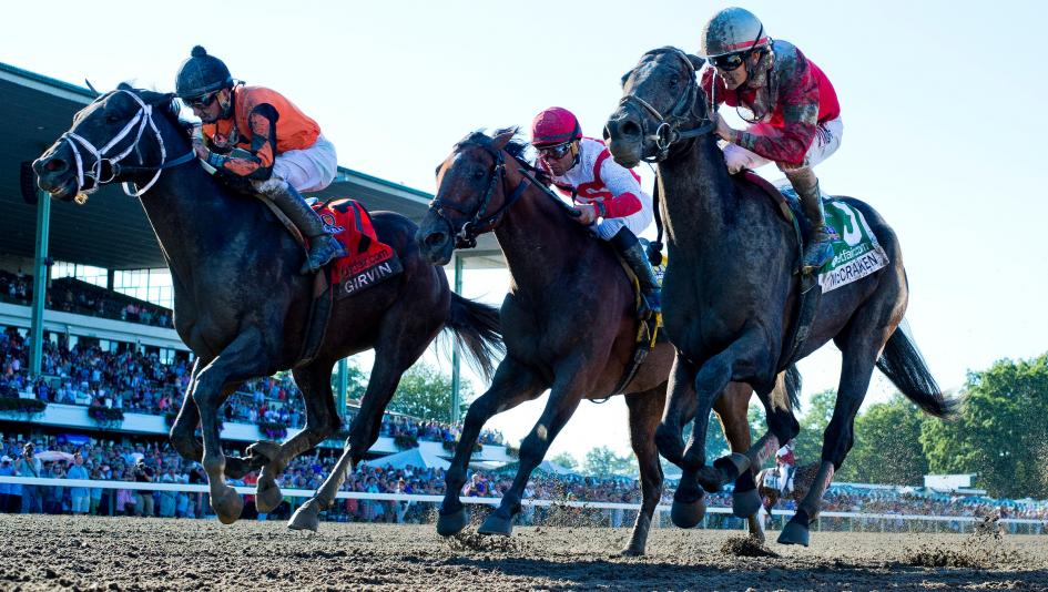 Girvin surges late for nose victory in Haskell Invitational