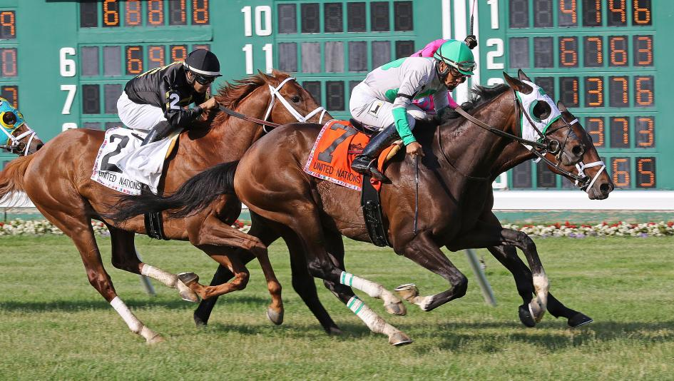 Hunter O'Riley Scores Upset in United Nations Stakes | America's Best Racing