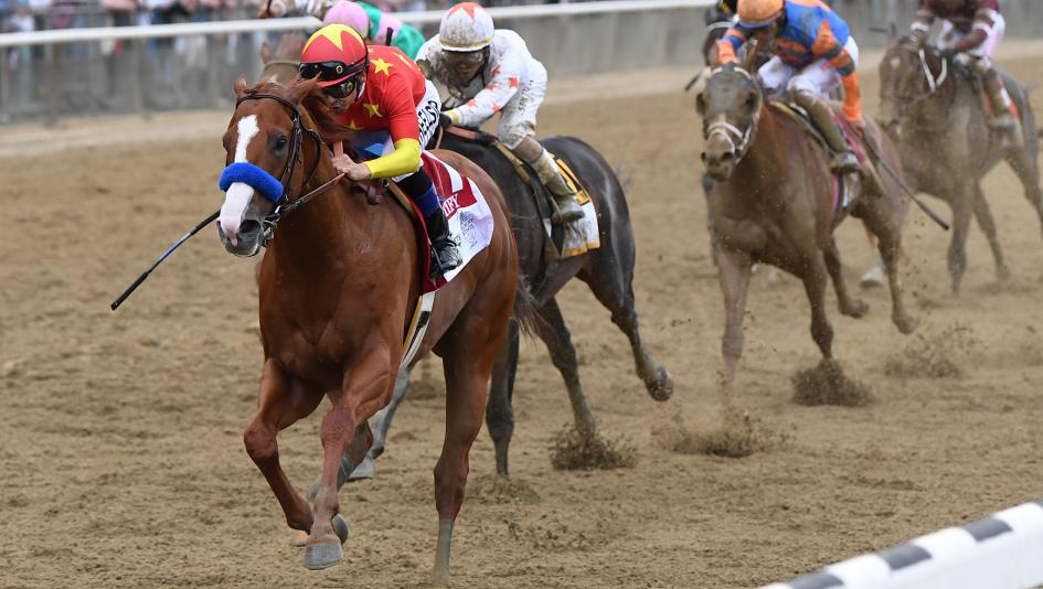 Undefeated Justify Completes Triple Crown Sweep in Belmont Stakes