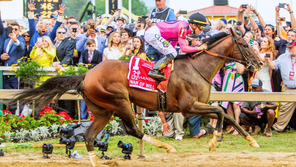 War of Will Scores Emotional Preakness Victory for Connections