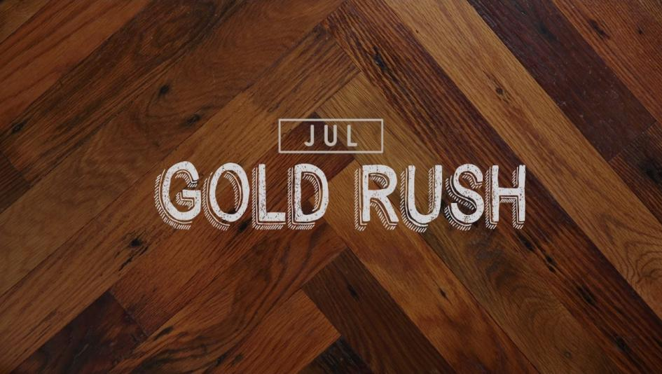 Gold Rush: Cocktail of the Month
