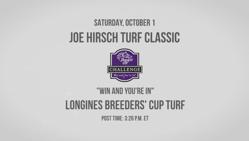 Flintshire Looms Large in Joe Hirsch Turf Classic