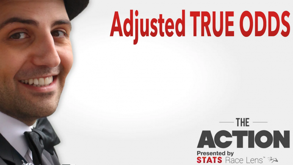#TheAction: Adjusted True Odds