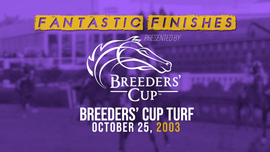 Breeders' Cup Fantastic Finishes: 2003 Turf