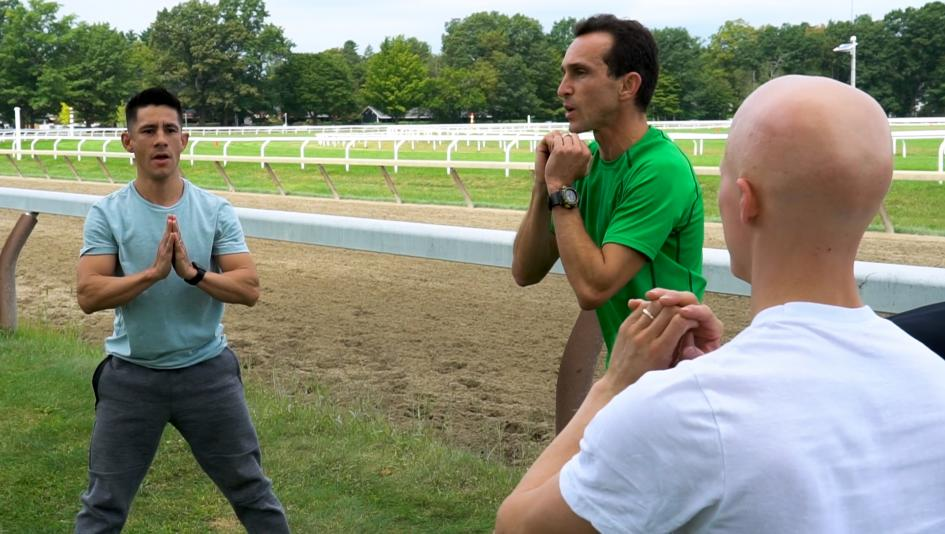 Jockey Workout: Staying in Riding Shape at the Spa