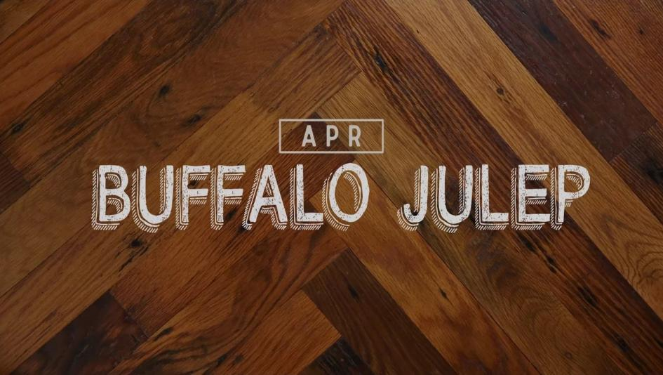 Buffalo Julep: Cocktail of the Month