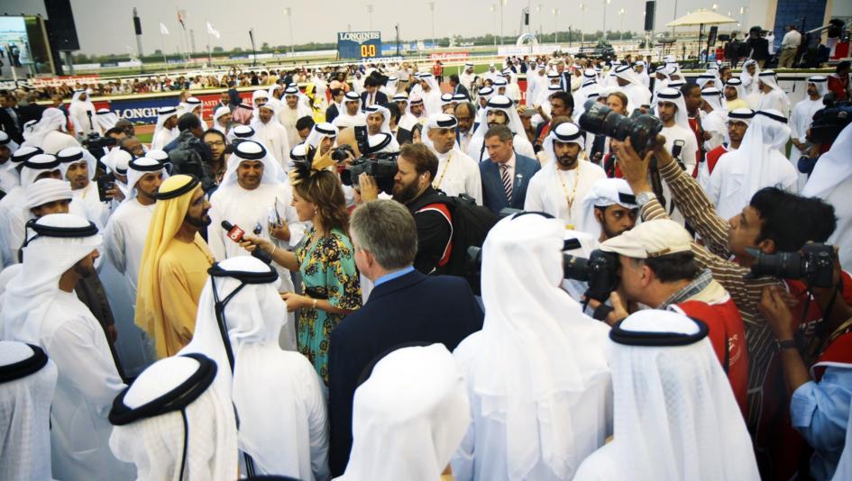 Arrogate Reigns Supreme in Dubai World Cup